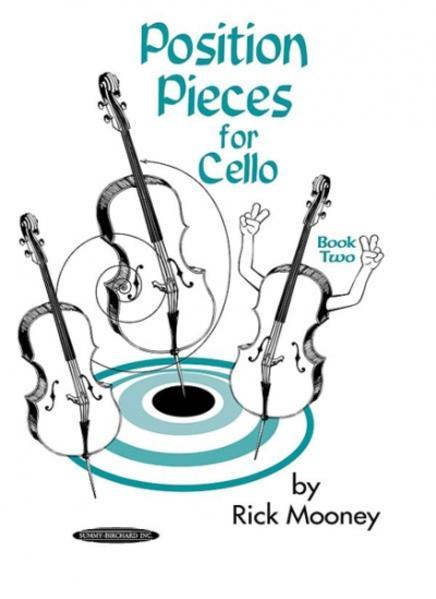 Position Pieces for Cello, Book 2 - Coverbild