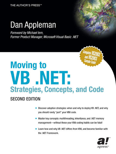 Moving to VB .NET - Coverbild