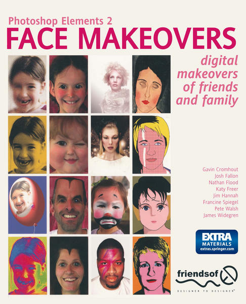 Photoshop Elements 2 Face Makeovers - Coverbild
