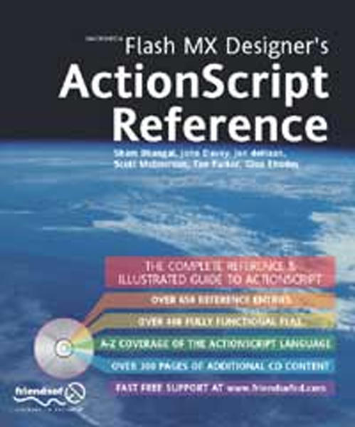 Flash MX Designer's ActionScript Reference - Coverbild