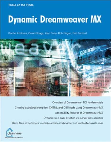 Dynamic Dreamweaver MX - Coverbild
