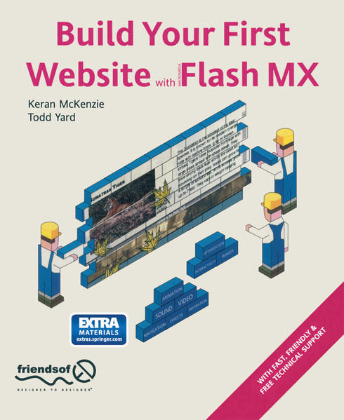 Build Your First Website with Flash MX - Coverbild