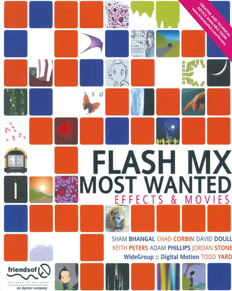 Flash MX Most Wanted - Coverbild