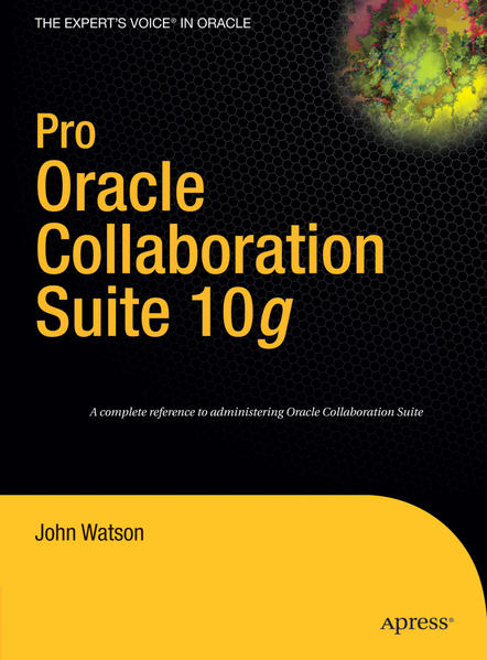 Pro Oracle Collaboration Suite 10g - Coverbild