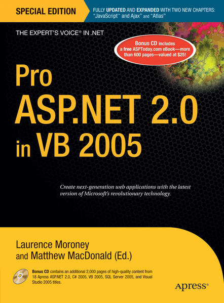 Pro ASP.NET 2.0 in VB 2005, Special Edition - Coverbild