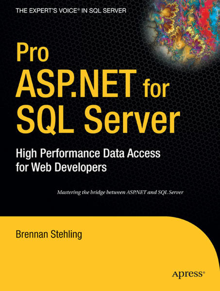 Pro ASP.NET for SQL Server - Coverbild