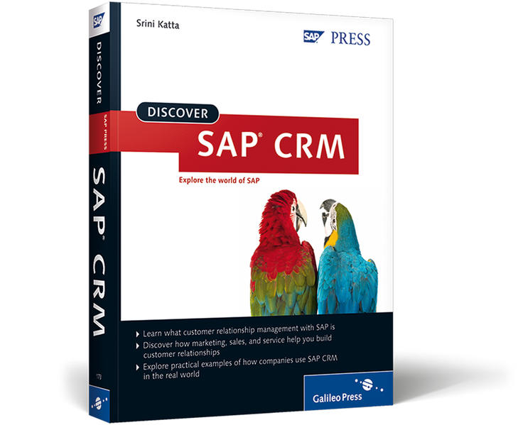 Discover SAP CRM - Coverbild