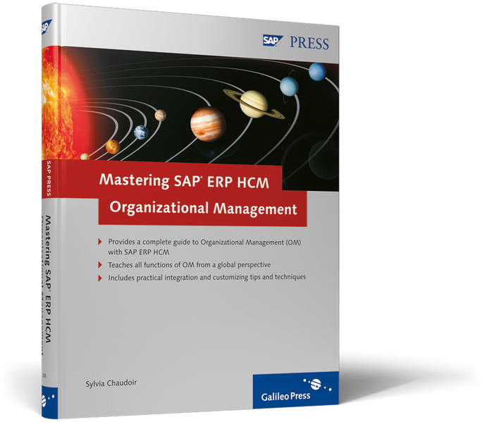 Mastering SAP ERP HCM Organizational Management - Coverbild