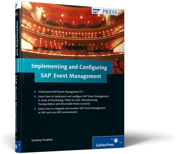 Implementing and Configuring SAP Event Management   - Coverbild
