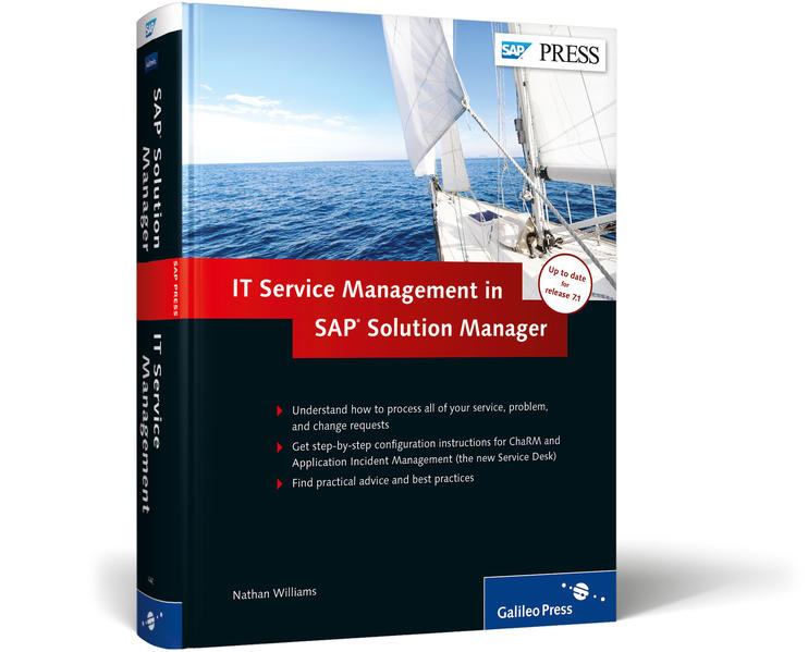 ITSM and ChaRM in SAP Solution Manager - Coverbild