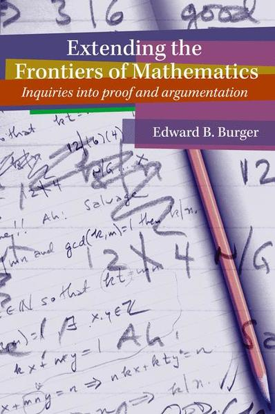 Extending the Frontiers of Mathematics - Coverbild