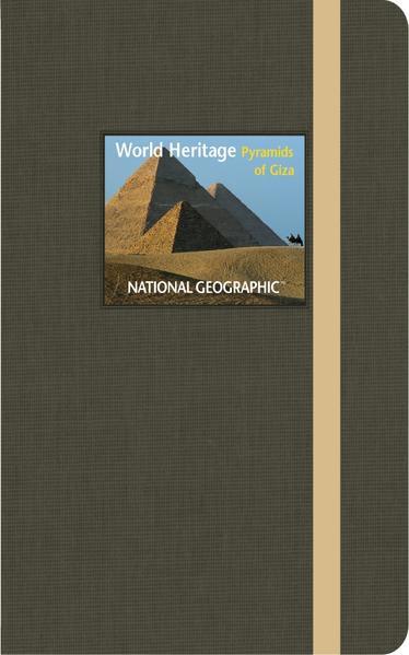 NG World Heritage Journal small Pyramids of Giza - Coverbild