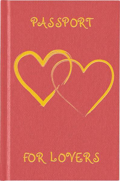 Passport Journal For Lovers - Coverbild