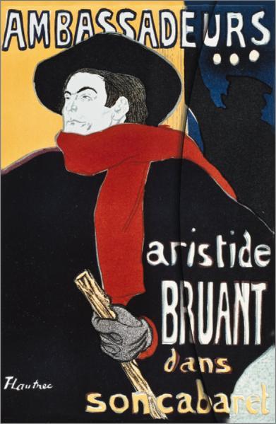 Art Nouveau: Aristide Bruant - Coverbild