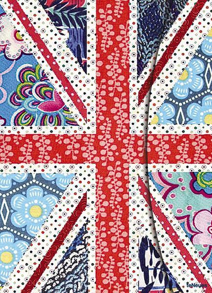 Patchwork Union Jack - Coverbild