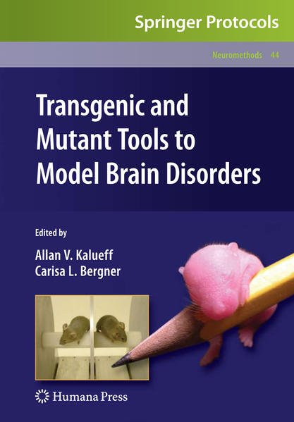 Transgenic and Mutant Tools to Model Brain Disorders - Coverbild