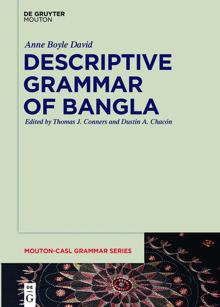 Descriptive Grammar of Bangla - Coverbild