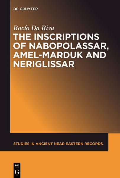 The Inscriptions of Nabopolassar, Amel-Marduk and Neriglissar - Coverbild