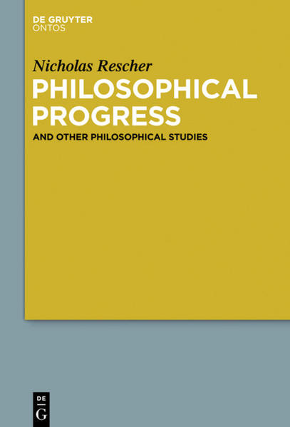 Philosophical Progress - Coverbild