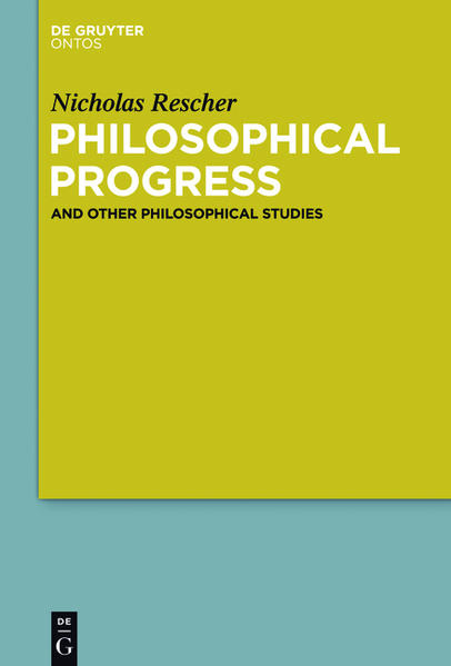 Philosophical Progress - Coverbild
