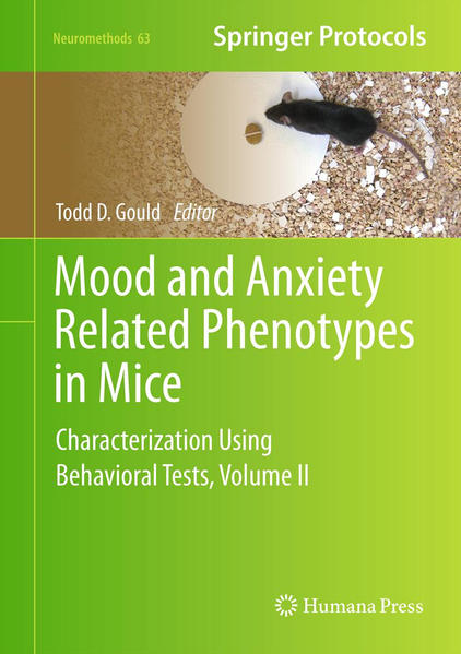 Mood and Anxiety Related Phenotypes in Mice - Coverbild