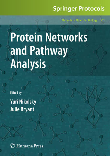 Protein Networks and Pathway Analysis - Coverbild
