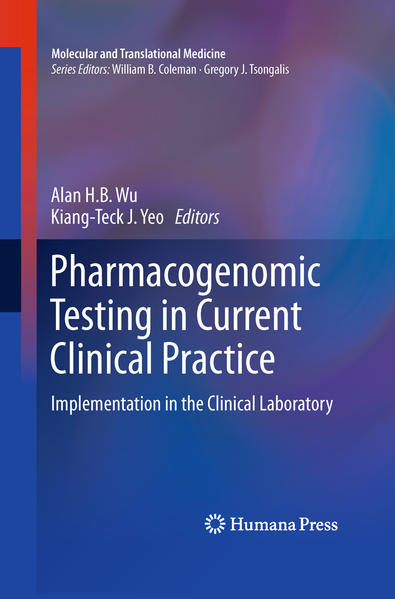 Pharmacogenomic Testing in Current Clinical Practice - Coverbild
