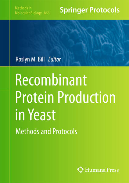 Recombinant Protein Production in Yeast - Coverbild