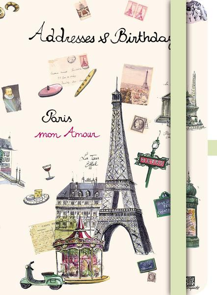 Green A&B Book PARIS - Coverbild