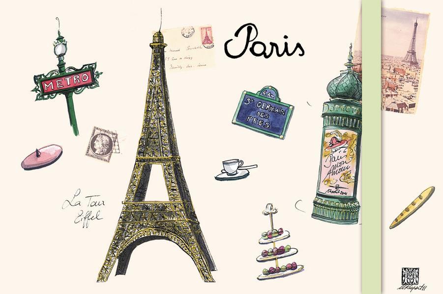 Green Sticky Notes PARIS - Coverbild