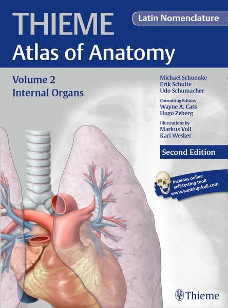 Internal Organs (THIEME Atlas of Anatomy), Latin nomenclature - Coverbild