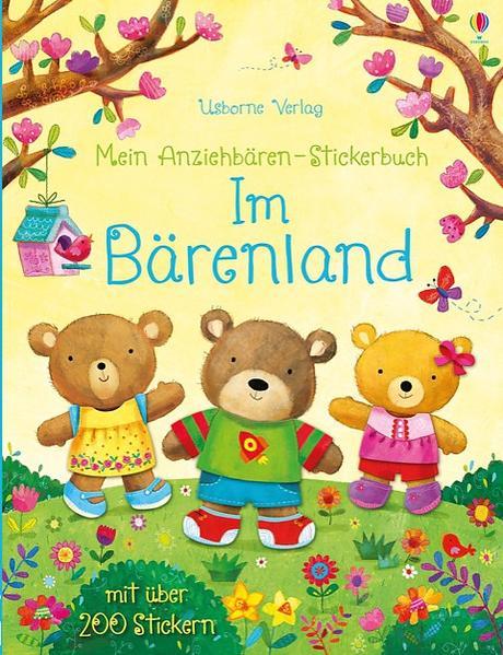 Mein Anziehbären-Stickerbuch: Im Bärenland - Coverbild