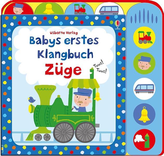 Babys erstes Klangbuch: Züge - Coverbild