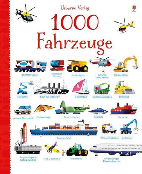 1000 Fahrzeuge - Coverbild