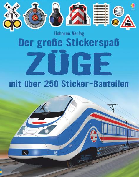 Download PDF Kostenlos Der große Stickerspaß: Züge