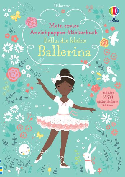 Mein erstes Anziehpuppen-Stickerbuch: Bella, die kleine Ballerina - Coverbild