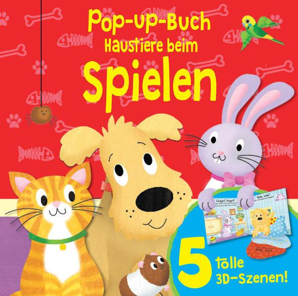 Kostenloses Epub-Buch Pop-Up-Buch Haustiere beim Spielen