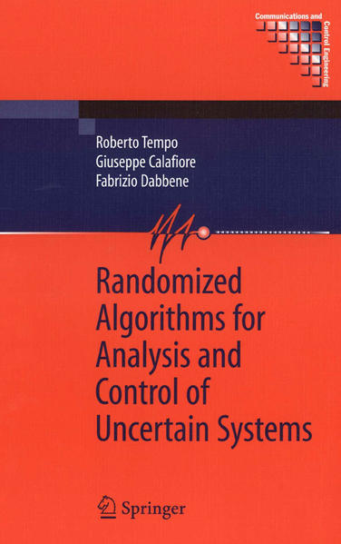 Randomized Algorithms for Analysis and Control of Uncertain Systems - Coverbild