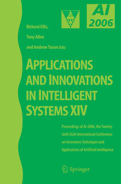 Applications and Innovations in Intelligent Systems XIV - Coverbild