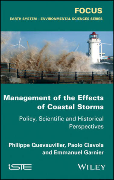 Management of the Effects of Coastal Storms - Coverbild