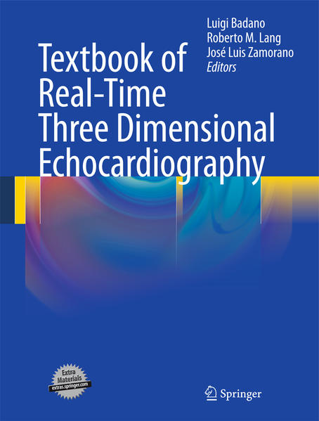 Textbook of Real-Time Three Dimensional Echocardiography - Coverbild