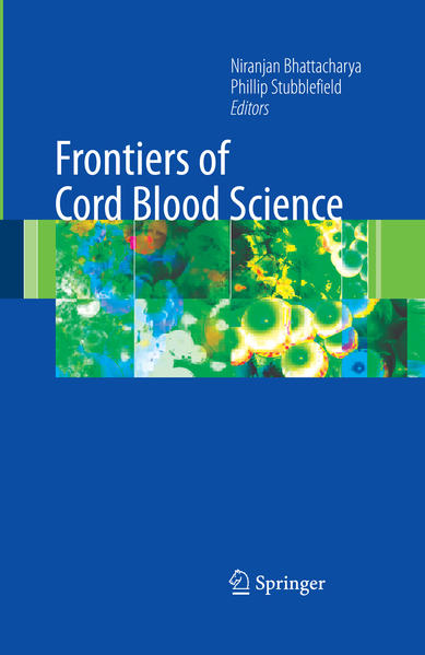 Frontiers of Cord Blood Science - Coverbild