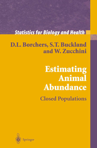 Estimating Animal Abundance - Coverbild