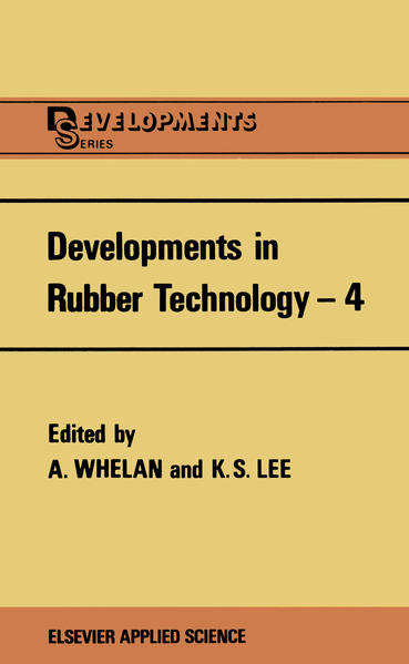 Developments in Rubber Technology—4 - Coverbild