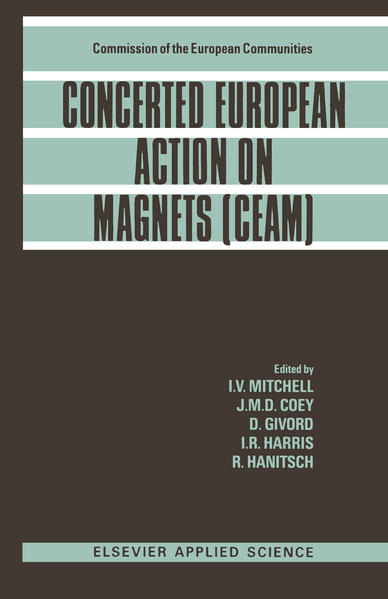Concerted European Action on Magnets (CEAM) - Coverbild