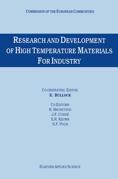Research and Development of High Temperature Materials for Industry - Coverbild