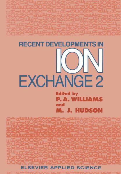 Ebooks Recent Developments in Ion Exchange PDF Herunterladen