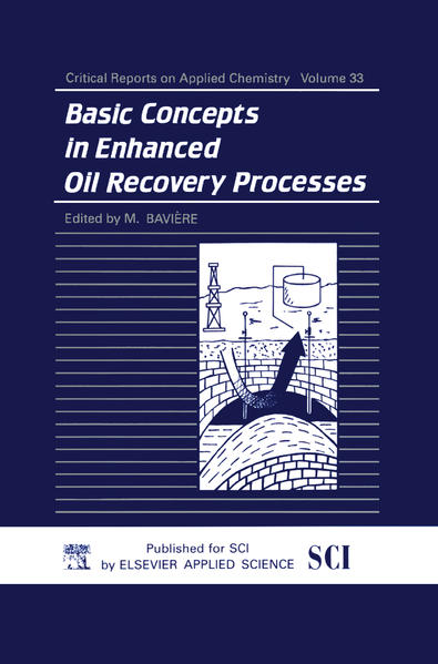 Basic Concepts in Enhanced Oil Recovery Processes - Coverbild
