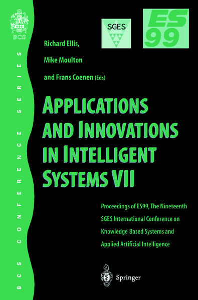 Applications and Innovations in Intelligent Systems VII - Coverbild