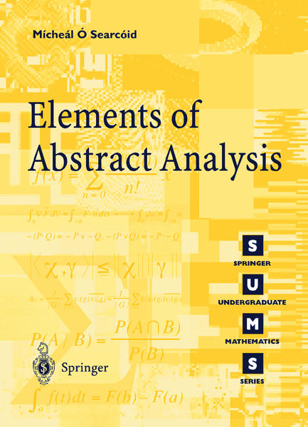 Elements of Abstract Analysis - Coverbild